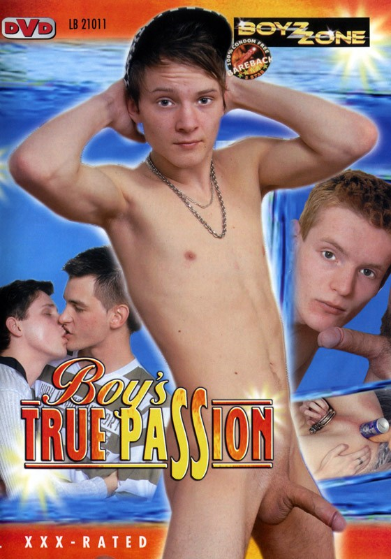 Boys True Passion DVD - Front