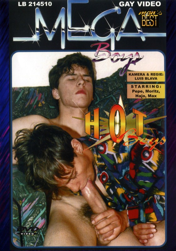 Hot Boys & Hot Letter DVD - Front