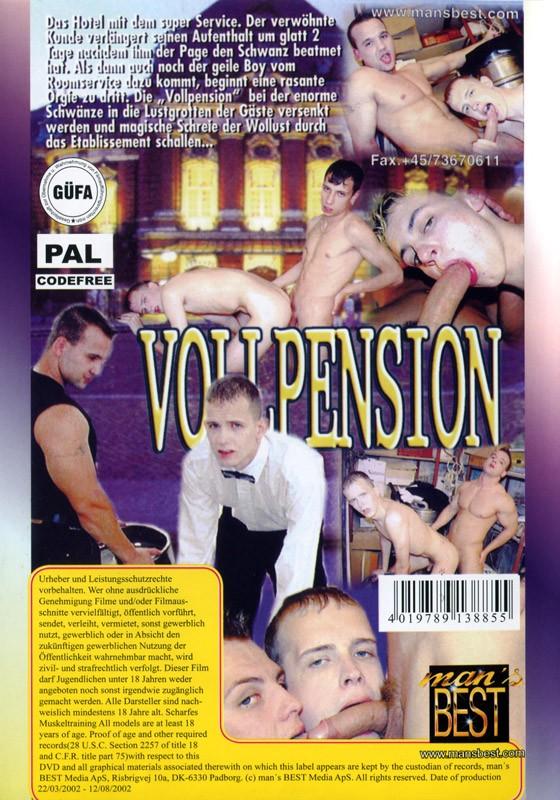 Vollpension DVD - Back