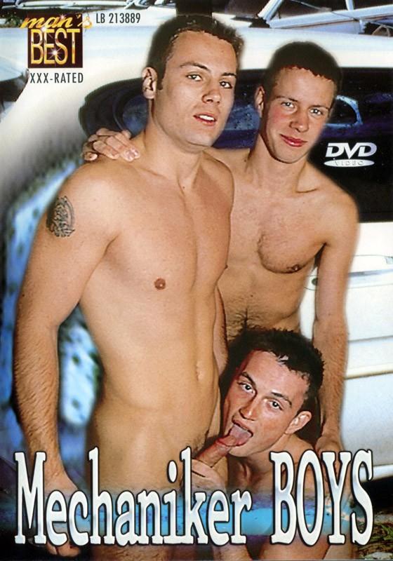 Mechaniker Boys DVD - Front