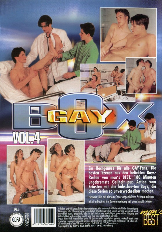 Gay Box Vol 4 DVD - Back