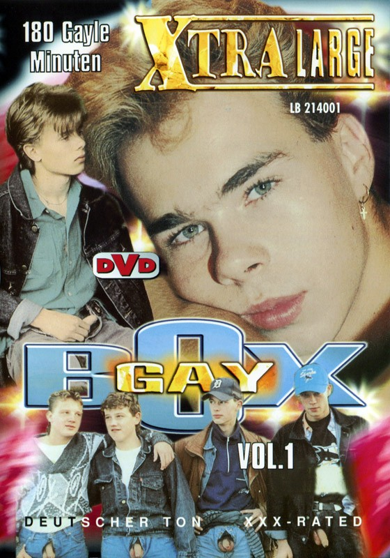 Gay Box Vol 1 DVD - Front