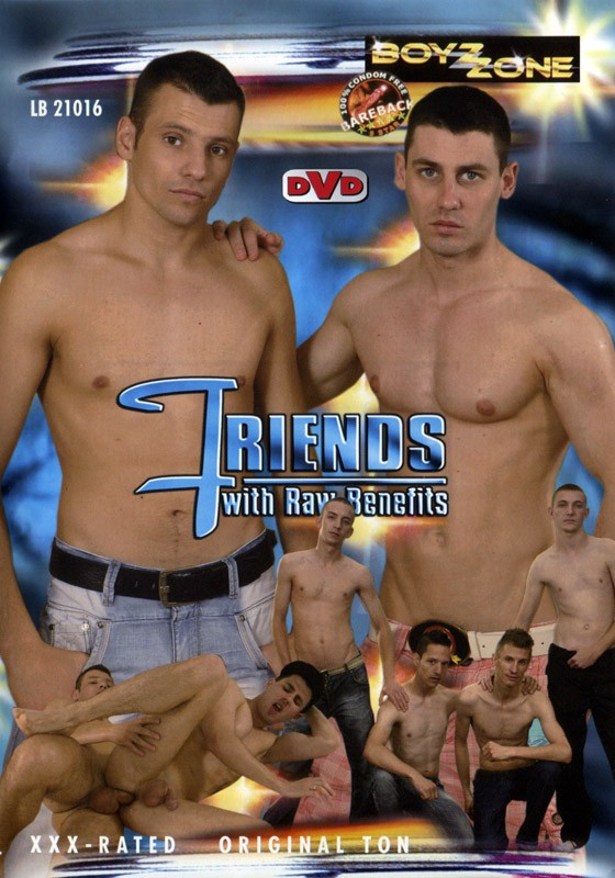 Friends With Raw Benefits DVD - Front
