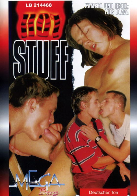 Hot Stuff DVD (Mega Boys) - Front