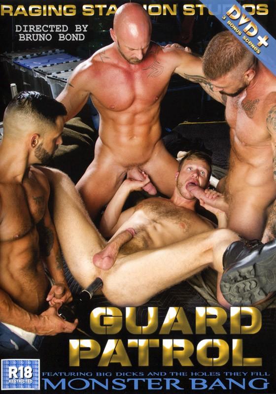 Guard Patrol DVD - Front
