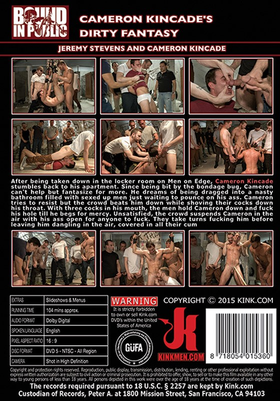 Bound In Public 71 DVD (S) - Back