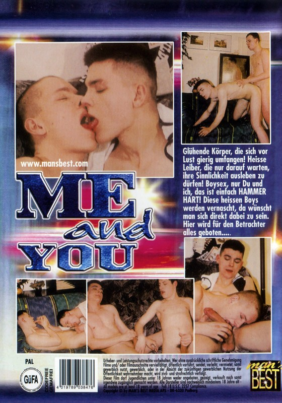 Me And You DVD - Back