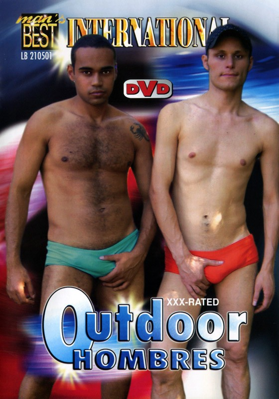 Outdoor Hombres DVD - Front