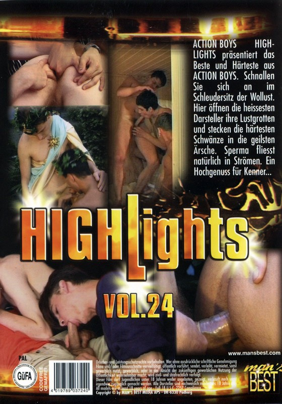 Highlights Vol. 24 DVD - Back