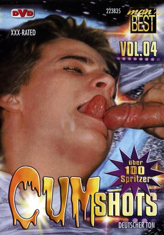 Cum Shots Vol. 4 DVD - Front