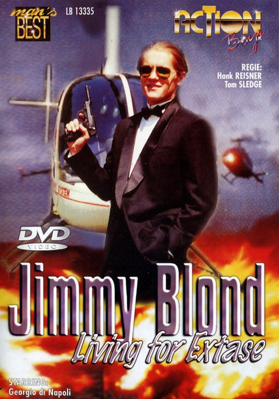 Jimmy Blond Living For Extase DVD - Front