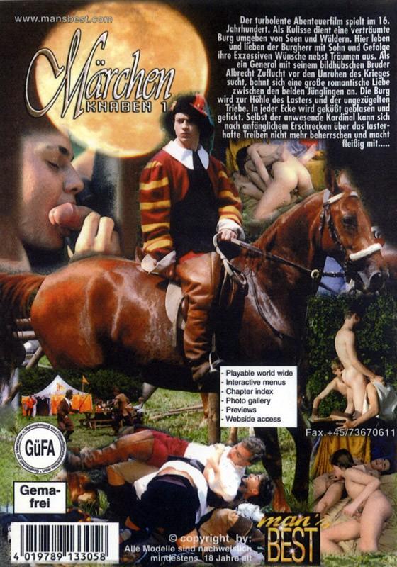Märchenknaben 1 DVD - Back