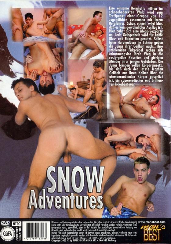 Snow Adventures DVD - Back