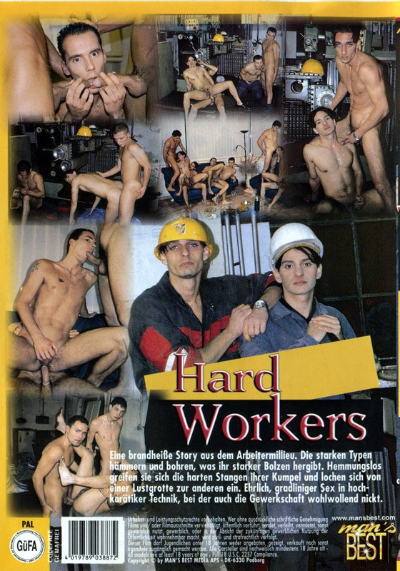 Hard Workers DVD - Back