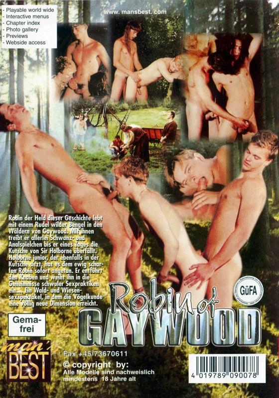 Robin Of Gaywood DVD - Back