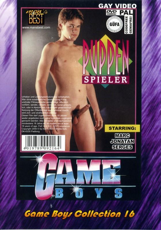 Game Boys Collection 16 - Wasserspiele + Puppenspieler DVD - Back