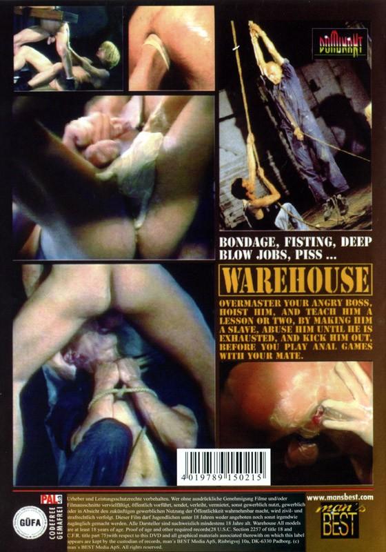 Warehouse DVD - Back