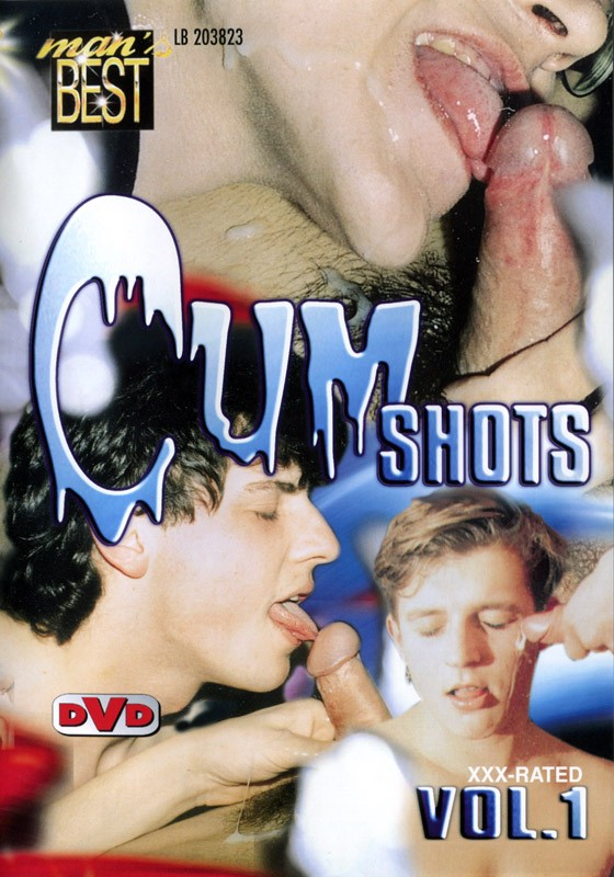 Cum Shots Vol. 1 (Mans Best) DVD - Front