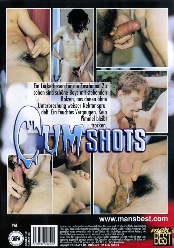 Cum Shots Vol. 1 (Mans Best) DVD - Back