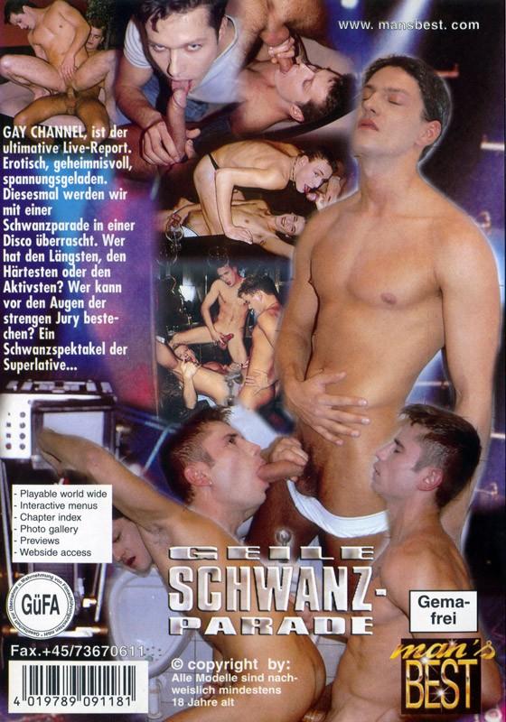 Geile Schwanzparade DVD - Back