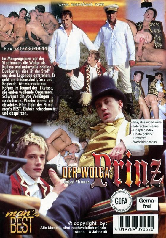 Der Wolgaprinz DVD - Back