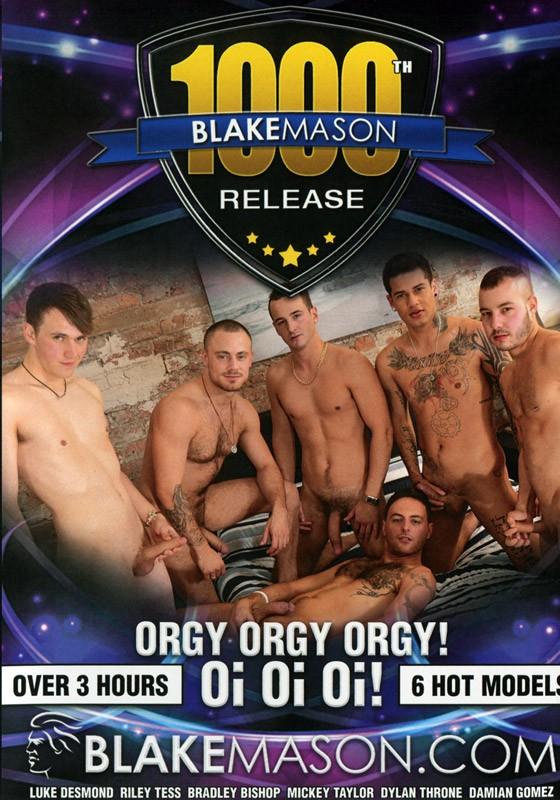 Blake Mason's 1000th: Orgy Orgy Orgy! Oi! Oi! Oi! DVD - Front