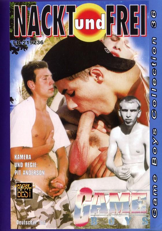 Game Boys Collection 36 - Nackt Und Frei + Heisse Spiele DVD - Front