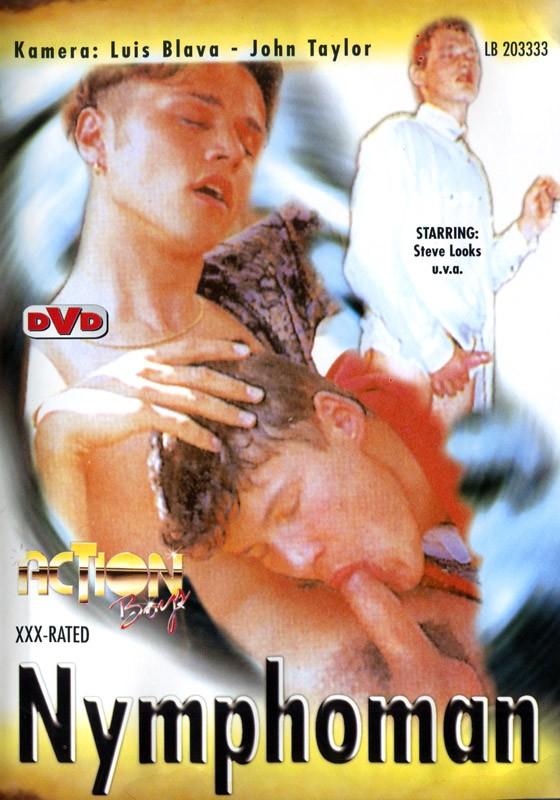 Nymphoman DVD - Front