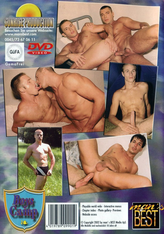 Boys Camp DVD - Back