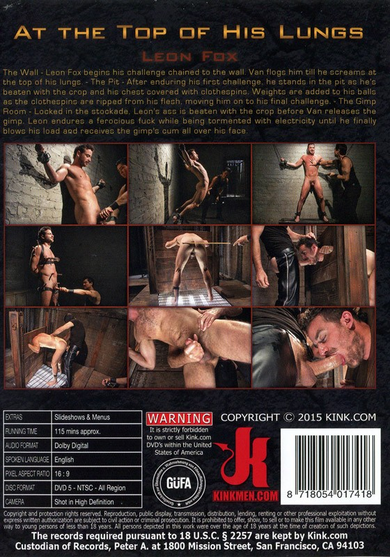 30 Minutes Of Torment 12 DVD (S) - Back