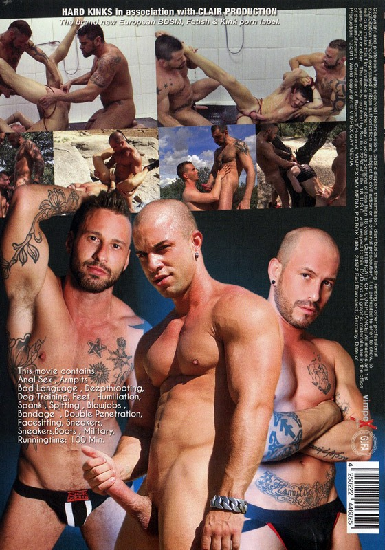 Dominated DVD - Back