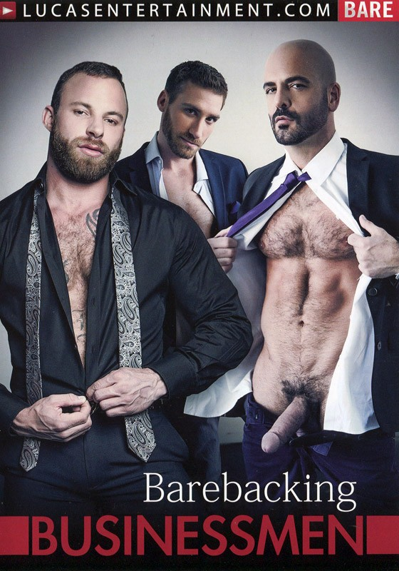 Barebacking Businessmen DVD - Front