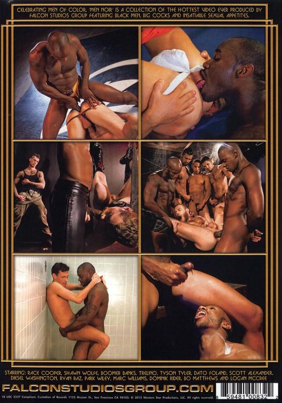Men Noir Two DVD - Back