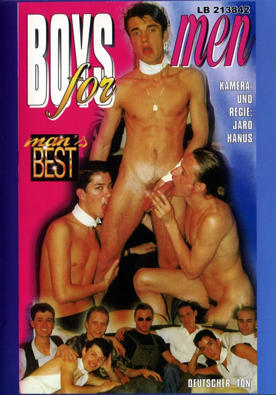 Boys For Men DVD - Front