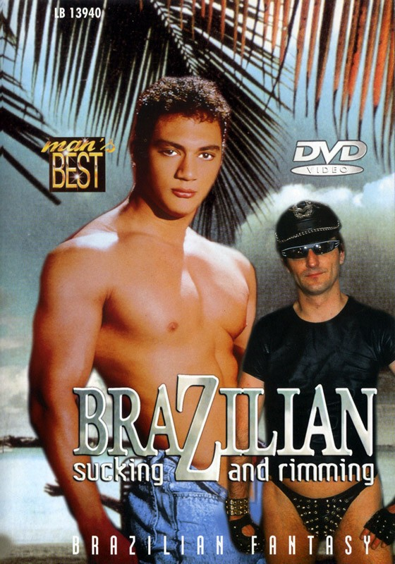 Brazilian Sucking & Rimming DVD - Front