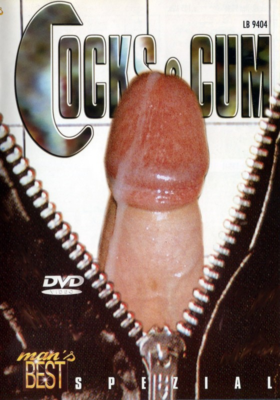 Cocks & Cum DVD - Front