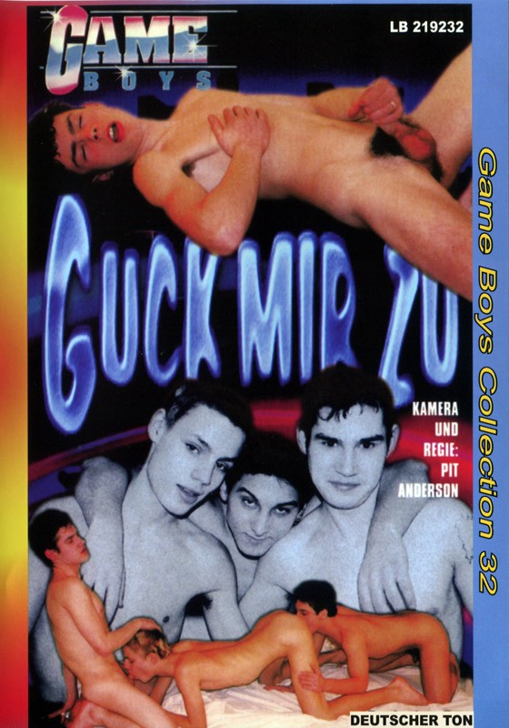 Game Boys Collection 32 - Guck Mir Zu + Fresh Cocks DVD - Front