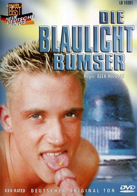 Die Blaulicht Bumser DVD - Front