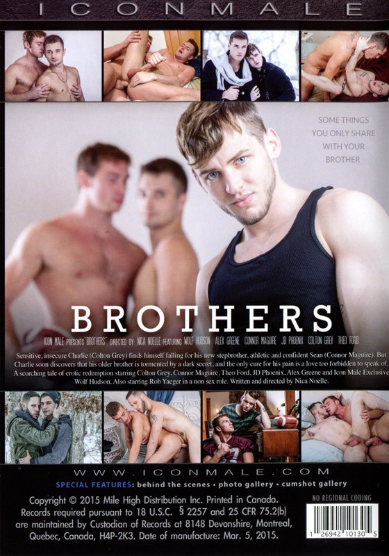 Brothers DVD - Back
