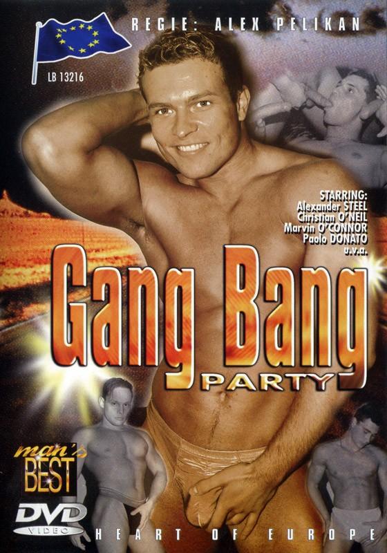 Gang Bang Party DVD - Front
