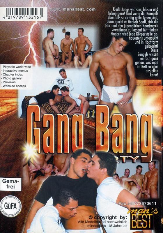 Gang Bang Party DVD - Back