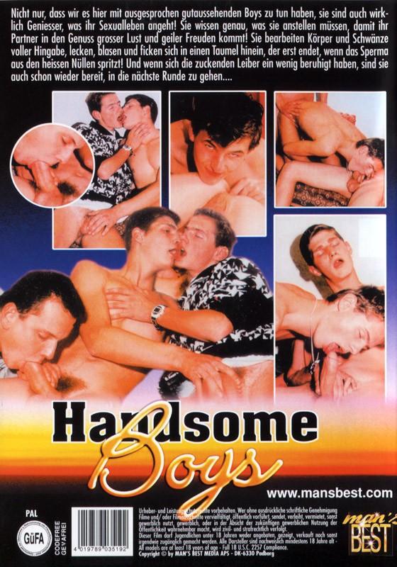 Handsome Boys DVD - Back