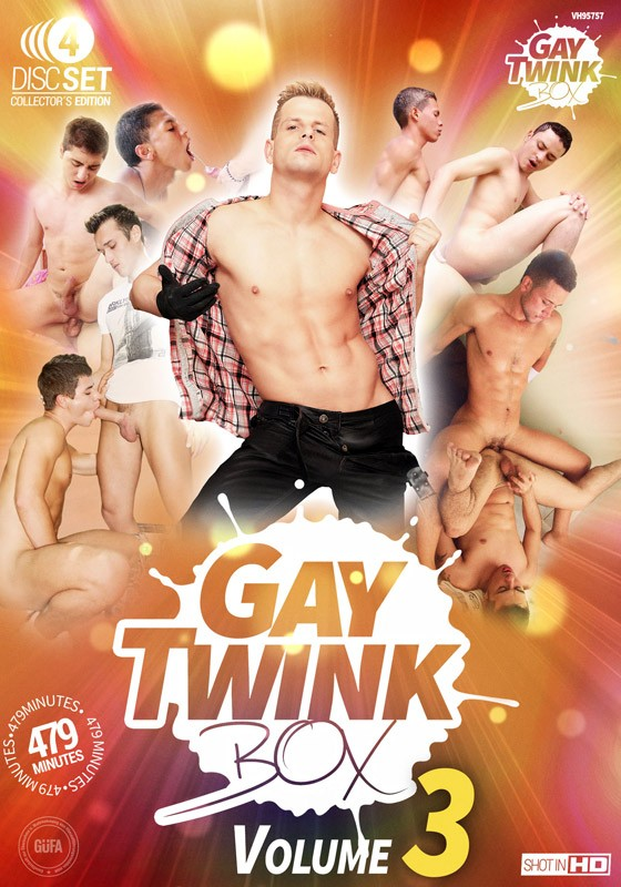 Gay Twink Box Volume 3 DVD - Front
