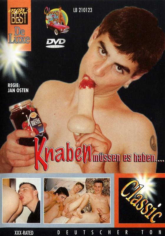 Knaben Müssen Es Haben DVD - Front