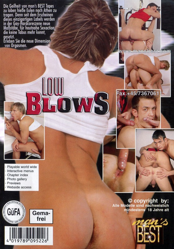 Low Blows DVD - Back