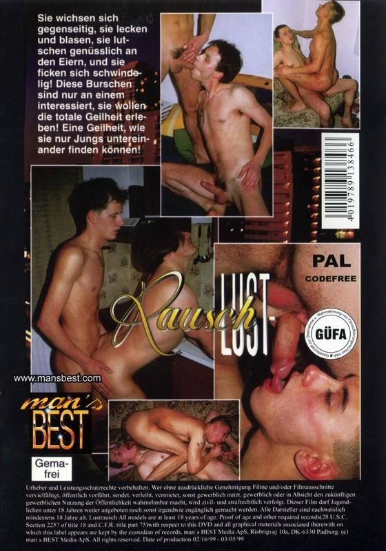 Lust-Rausch DVD - Back