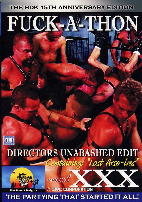 Fuck-A-Thon DVD - Front