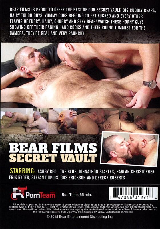 Bear Films Secret Vault Volume 1 DVD - Back