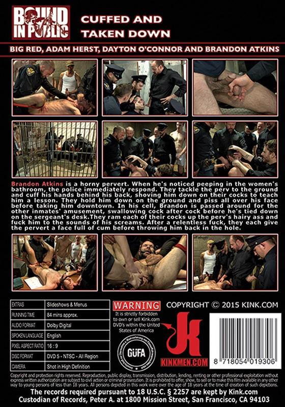 Bound In Public 81 DVD (S) - Back