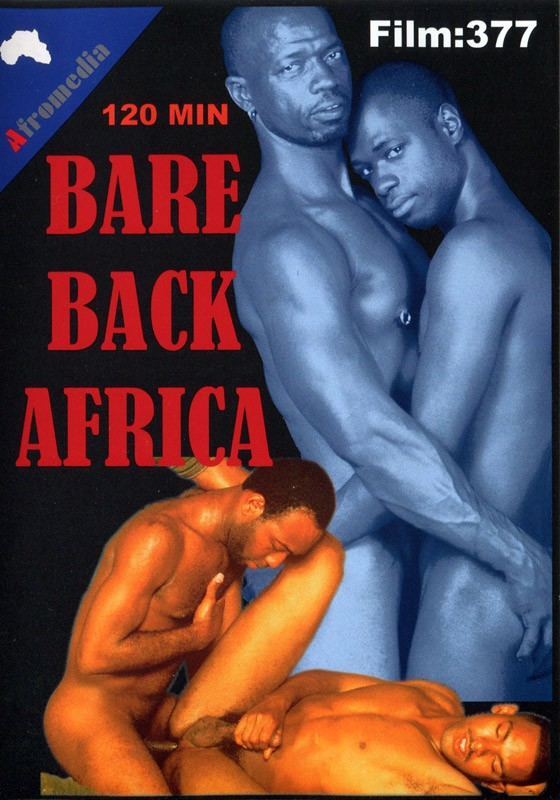 Bare Back Africa DVD - Front
